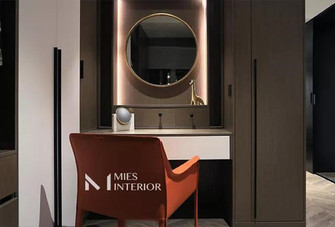 20万以上140平米三室两厅现代简约风格梳妆台装修案例