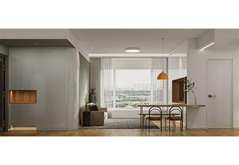 富裕型120平米三室一厅现代简约风格餐厅图片大全