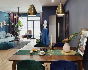10-15万110平米三室两厅混搭风格餐厅装修效果图