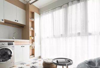 富裕型90平米三室两厅北欧风格阳台效果图