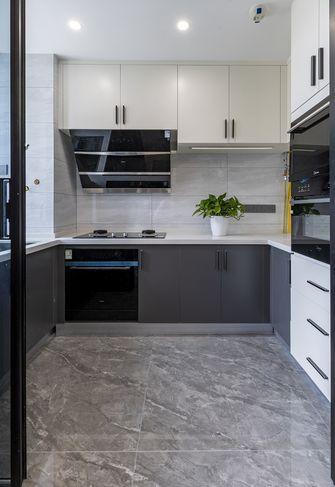 10-15万120平米三室两厅北欧风格厨房装修案例