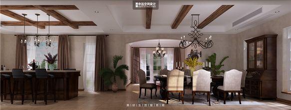 豪华型140平米别墅地中海风格餐厅图片