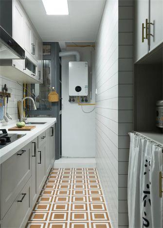 80平米三室两厅混搭风格厨房设计图