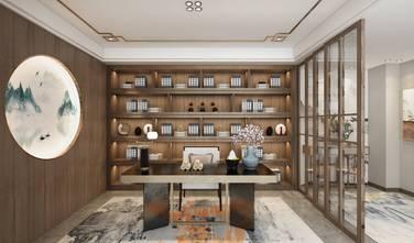 140平米三中式风格书房装修图片大全