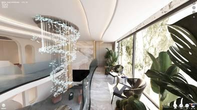140平米别墅法式风格阳台图