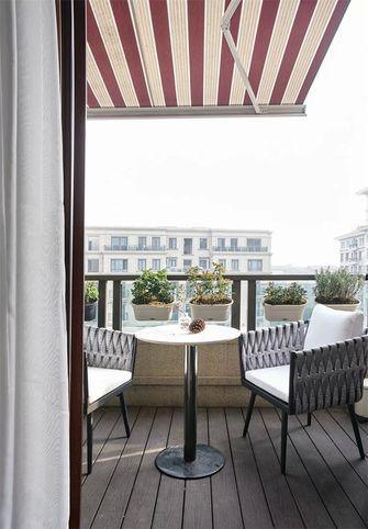 10-15万130平米三室两厅美式风格阳台效果图