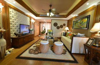 110平米三东南亚风格客厅图