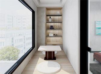 富裕型三室两厅现代简约风格阳台装修案例