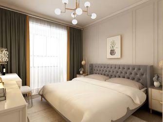 100平米三室一厅美式风格卧室图