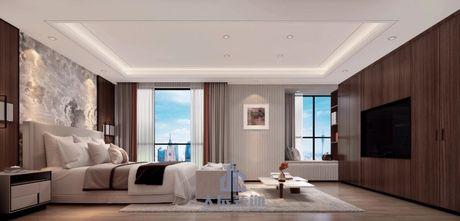 20万以上140平米三室两厅混搭风格卧室图片