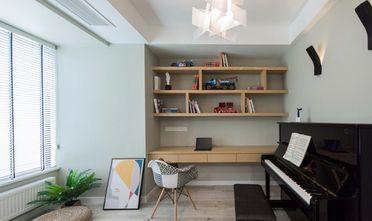 10-15万100平米三室一厅北欧风格书房图片大全