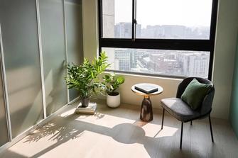富裕型110平米三混搭风格阳台欣赏图