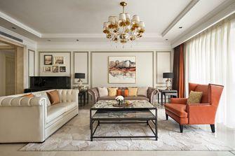 140平米三法式风格客厅装修效果图
