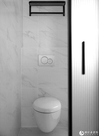 经济型70平米公寓现代简约风格卫生间效果图