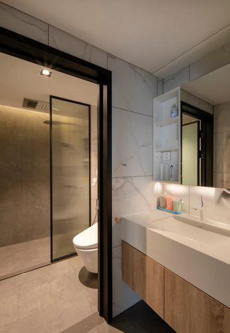 豪华型120平米三室一厅日式风格卫生间效果图