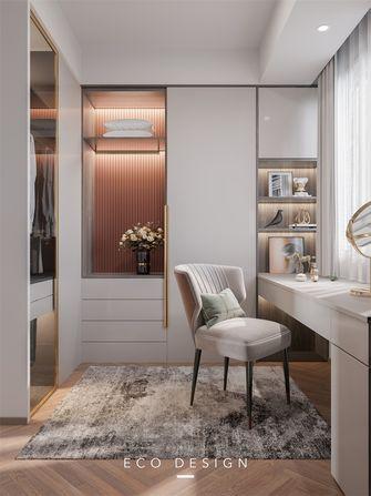 10-15万140平米三室两厅现代简约风格衣帽间效果图