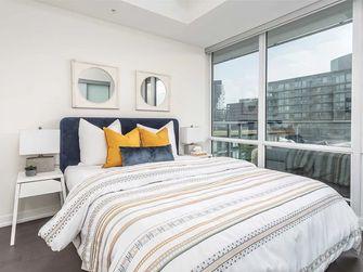 10-15万90平米轻奢风格卧室图片