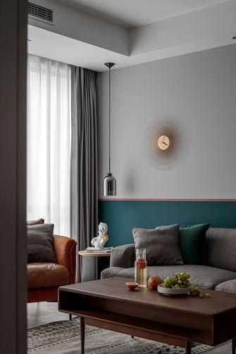 经济型60平米北欧风格客厅欣赏图