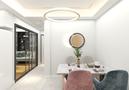 经济型60平米混搭风格餐厅装修案例
