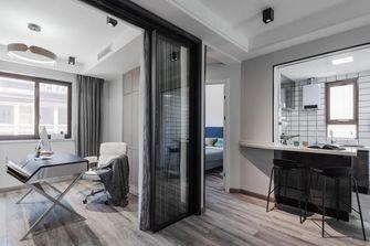 经济型三室一厅工业风风格书房装修效果图