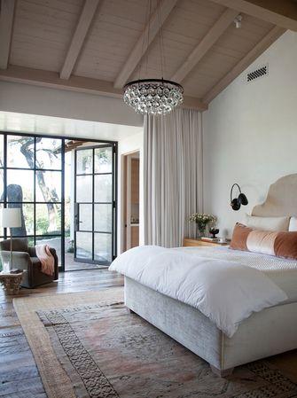 140平米东南亚风格卧室欣赏图
