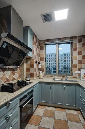 富裕型70平米美式风格厨房图片