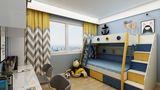 140平米四现代简约风格青少年房设计图