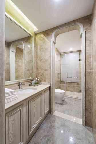 5-10万100平米三室一厅地中海风格卫生间装修效果图