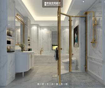 豪华型140平米别墅新古典风格卫生间装修图片大全