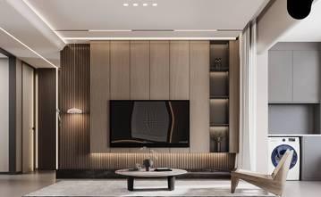 100平米三轻奢风格客厅装修图片大全
