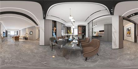 豪华型140平米四轻奢风格餐厅效果图