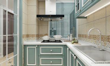 20万以上90平米三地中海风格厨房欣赏图