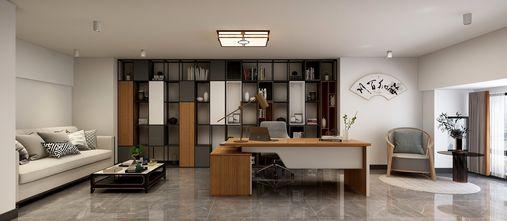 5-10万100平米复式新古典风格书房装修图片大全