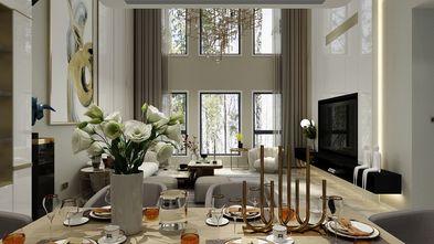 140平米四室两厅轻奢风格餐厅效果图