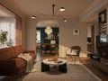 20万以上140平米三室一厅法式风格客厅图片大全
