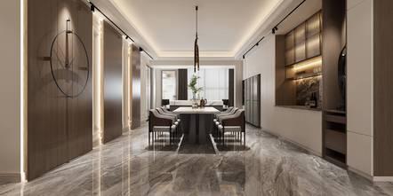 豪华型140平米四室两厅混搭风格餐厅图片大全