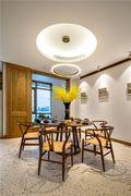 110平米复式日式风格餐厅设计图