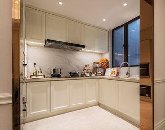 豪华型120平米三室两厅法式风格厨房装修图片大全