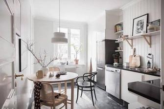 10-15万40平米小户型北欧风格厨房欣赏图