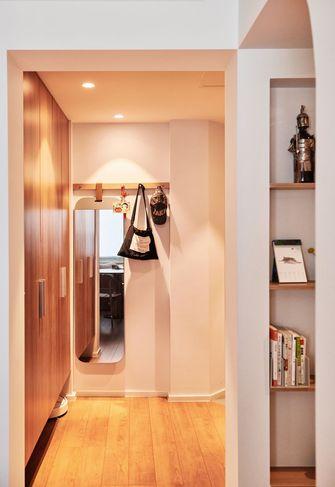 经济型60平米三室两厅日式风格玄关欣赏图