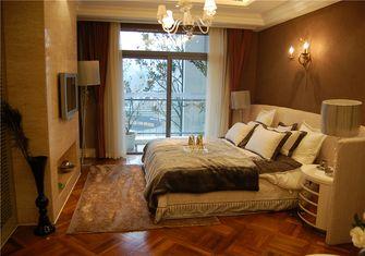 富裕型60平米公寓欧式风格卧室装修效果图