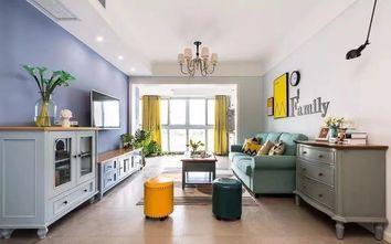 90平米三美式风格客厅图