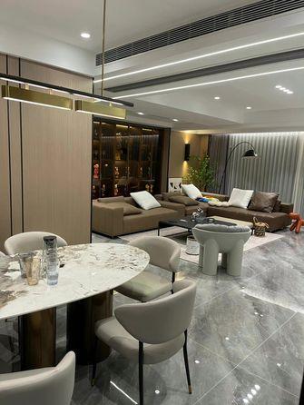 豪华型140平米四室一厅轻奢风格餐厅欣赏图