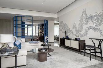 120平米中式风格客厅装修案例