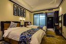 140平米公装风格卧室设计图