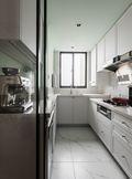 100平米三室两厅法式风格厨房装修效果图