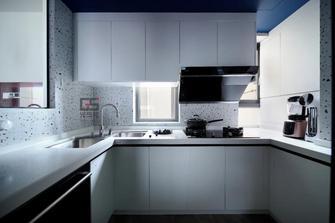 80平米现代简约风格厨房图