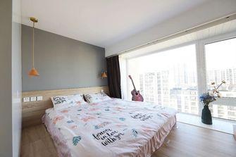 富裕型50平米一室一厅现代简约风格卧室设计图