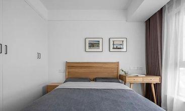 富裕型90平米三室一厅北欧风格卧室装修案例