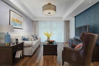 经济型120平米三室三厅美式风格客厅装修效果图